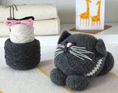 Luxury Little Kitten Amigurumi Crochet Kit