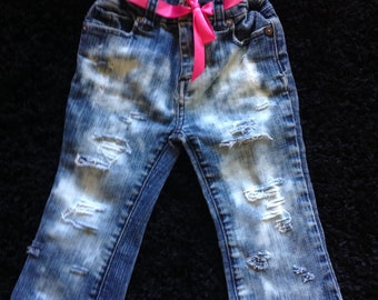 Girl jeans size 24 months