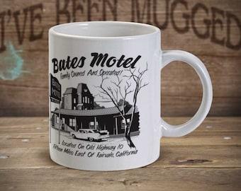 Bates Motel MG1138  Psycho Norman Bates Parody Coffee Mug