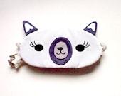 Sleep Eye Mask - The Alpaca (Cream)