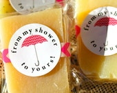 Baby or Bridal Shower Favors, Mini Soap Assortment, From My Shower to Yours