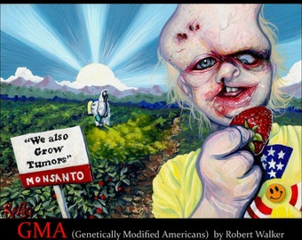 RW2 Signed POLITICAL Limited Edition Print GMO