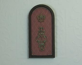 Dollhouse Miniature Renaissance Fleur de lis Wall Panel