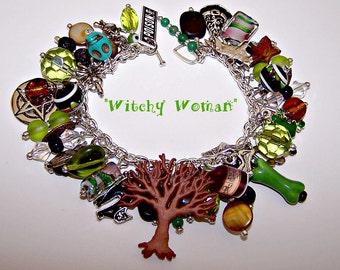WITCHY WOMAN Artisanal Charm Bracelet
