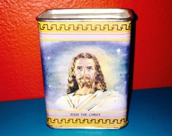 VINTAGE JESUS BANK Kitschy Religious Church Offerings