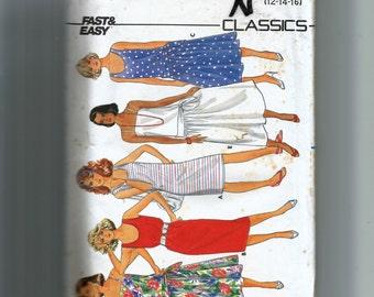 Butterick Misses' Dress Pattern 3287