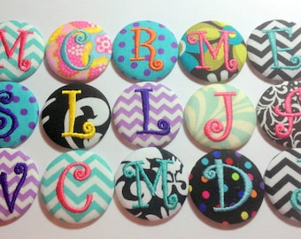 10 Monogrammed Swivel Clip Badge Reel Id Holder Your choice of personalized design