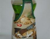 Horse  Dog Cat Farm Dish Soap Bottle Apron Cover Kitchen Decor Staffer Fun Lg