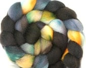 Hand dyed BFL wool Combed Top-- 4.2 oz --