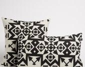 Lumbar Pillow in Condensed Pattern
