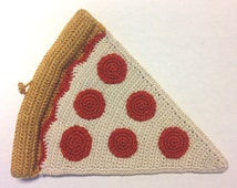 Pizza Slice Ornament or Wall Adornment