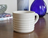 Ceramic Mug SHOP SALE - Linear Mug in Glossy Clear
