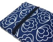 "MS Surface Pro 3, 4 Case Women's 12"" MacBook, 11.6"" Chromebook Sleeve, Surface Book Cover - Blue Scallops"