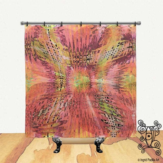 Flutter - Shower Curtain by Ingrid Padilla
