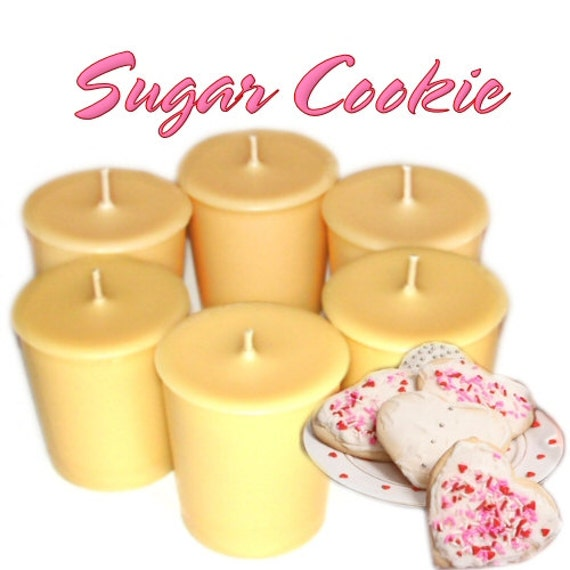 Sugar Cookie Votive Candles Buttery Vanilla Scent