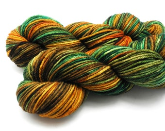 Steampumpkin - Hand Dyed Yarn - Dyed to Order