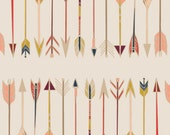 Fletching Chant - Wild & Free Collection by Maureen Cracknell - Art Gallery Fabrics - Premium Cotton Quilting Fabric - One Yard Fabric