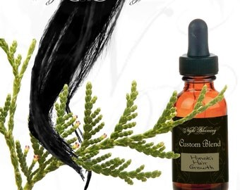 Hinoki Hair Growth Support Custom Oil Blend