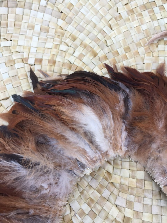 Schlappen Feather 4 6 Inch Length Natural Color Rooster
