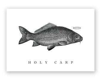 Holy Carp - Blank Card