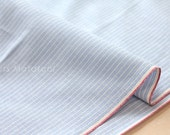 Japanese Fabric - yarn dyed selvedge cotton  - A - 50cm