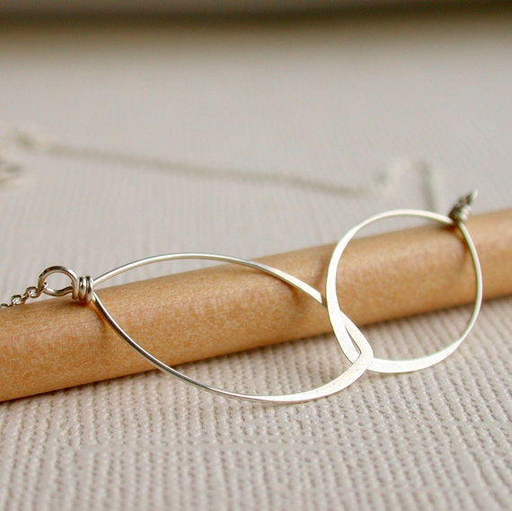 Infinity Necklace. Friendship Necklace. Eternity Necklace. 14k Gold fill. Sterling, or Rose gold fill. Handcrafted.