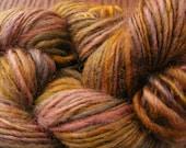 FADED BOUQUET Handspun Wool Yarn Coopworth 175yds 3.75oz 9-10wpi aspenmoonarts knitting