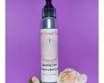 Wedding Cake Body Lotion (Paraben Free)