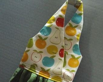 Hanging Dish Towel Just Fruit Fabric