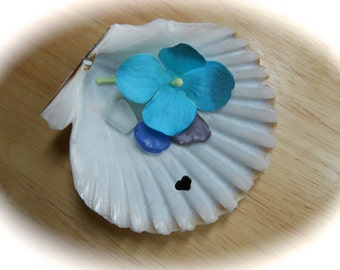Sea Shell Catch All - Hand Carved Shell Bowl - I HEART RI