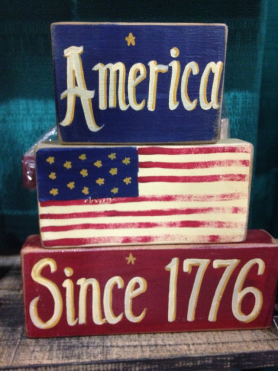 crafts u love items similar to america since 1776 sign patriotic decor 1776