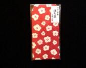 Japanese Envelopes - Plum Blossoms  Envelopes  - Small Envelopes -  Flower Envelopes Set of 8
