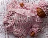 Cheryls Crochet CC81-Dainty Baby Set #10 thread PDF