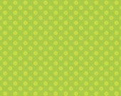 Simply Sweet Green Dot by Riley Blake - 1 yard