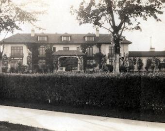 vintage photo 1950s President Richard M Nixon's Home in Reno Nevada while Senator 20 million