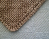 Camel Cotton Dishcloth