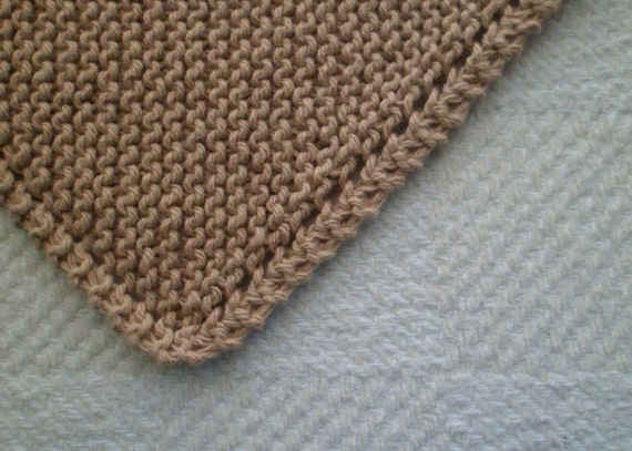 Camel Cotton Dishcloth