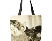 Meowmore, Cats, Tote Bag, Printed in USA