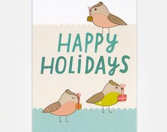 Happy Holidays - Greeting Card