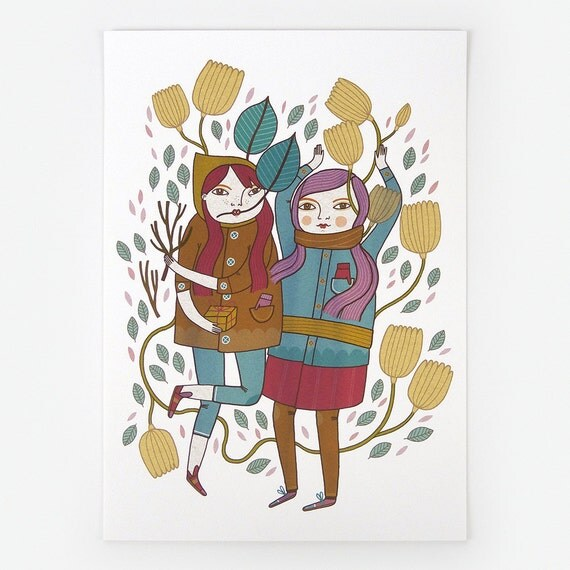 Spring Is Coming - Giclee Print