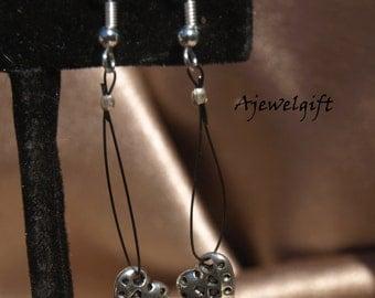 Dangling Heart Earrings 13068