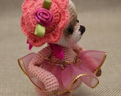"Ailsa, 3.5""Thread Crochet Bear, Digital Pattern by Chantal Bears"