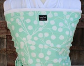 ORGANIC COTTON Baby Wrap-Sling Carrier- Hands-Free Carrier-Branches-Our Wraps Are One Size Fits All-DvD Included
