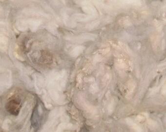 NEW CVM Romeldale  lamb locks, 4 oz,  Vanilla  130