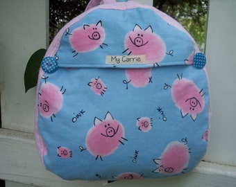 My Carrie Baby/Toddler Backpack Here Piggie, Piggie