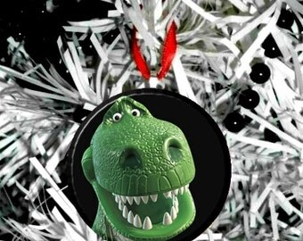 "REX  Christmas Tree 2.25"" Ornament"