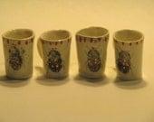 Bug demitasse cups set of 2