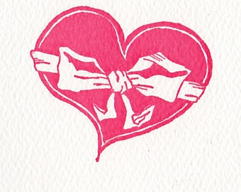 I'm Bound to You Letterpress Printed Valentine