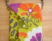 Handmade Wallet, Shoulder Wallet, Women's Fabric Wallet, Wallet, Credit Card Holder, Phone Wallet, Phone Clutch-CARNIVAL