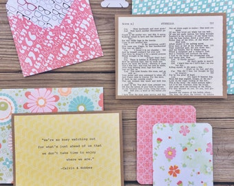 Flattery Stationery Kit - Spring Flowers Edition